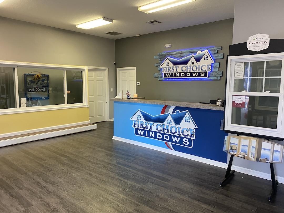 first choice windows ocala showroom
